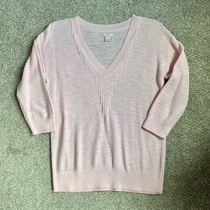 {J. Crew} Bubblegum Pink Sweater